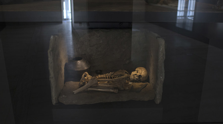 Could this Bronze Age skeleton be the ultimate grandpa? © Juan Medina