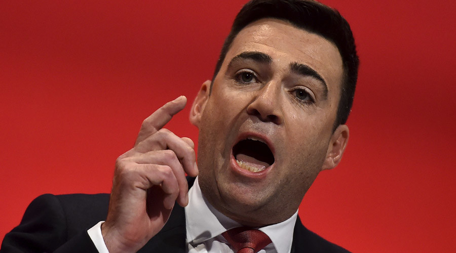 Britain's opposition Labour Party Shadow Home Secretary, Andy Burnham © Toby Melville