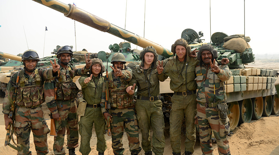 Moscow & Delhi to hold 3 major war games in 2016