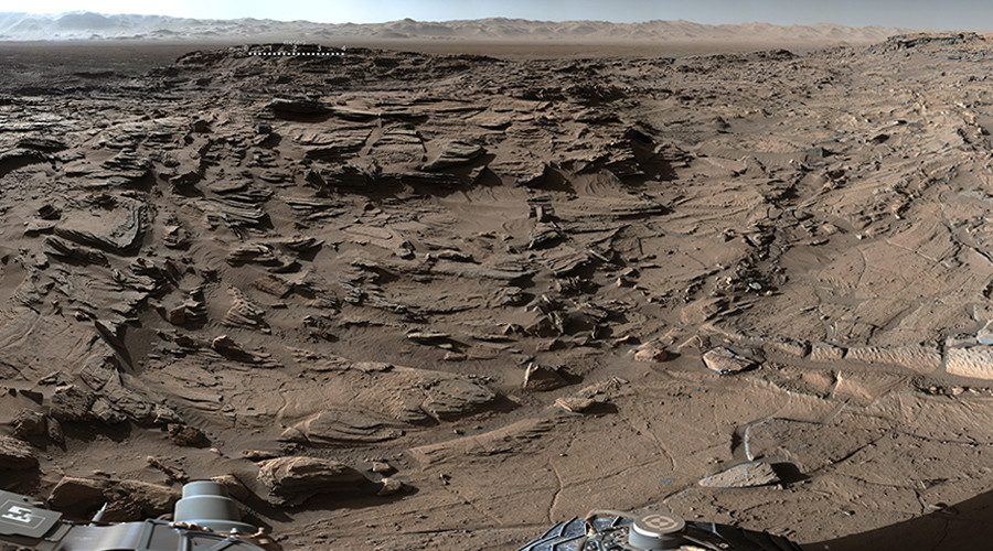 Stunning 360° Mars panorama as Curiosity reaches highest-ever vantage point