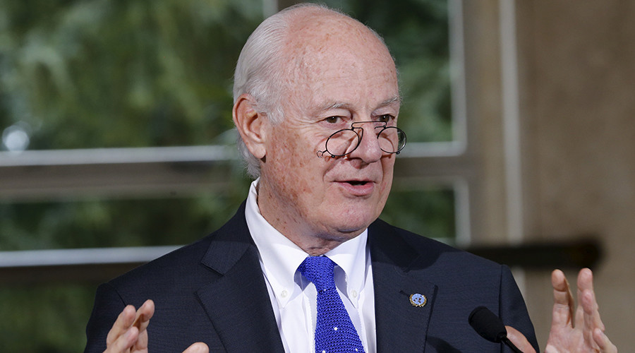UN Syria envoy says ceasefire 'alive but barely,' calls on Russia and US to revive it