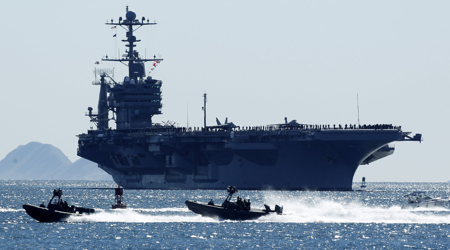 China denies US carrier group entry to Hong Kong amid South China Sea tensions