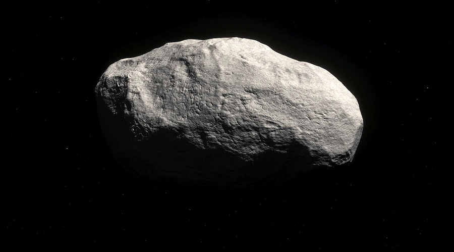"The new comet, known as C/2014 S3, also-called ""Manx"" comet is shown in this artist rendering released on April 29, 2016. © M. Kornmesser / ESO"