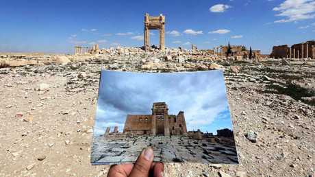 What remains of the historic Temple of Bel, dating back to 32AD. © Joseph Eid
