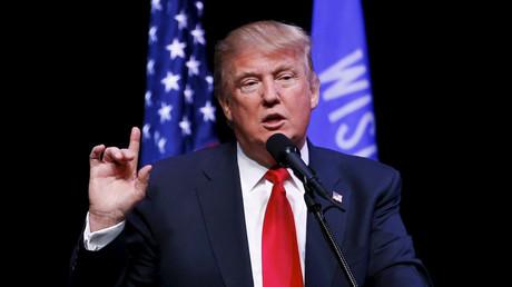 Republican US presidential candidate Donald Trump © Kamil Krzaczynski