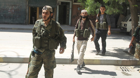 Free Syrian Army fighters © Abdalrhman Ismail