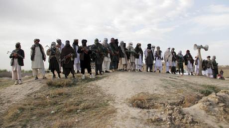 Members of the Taliban © Stringer Afghanistan
