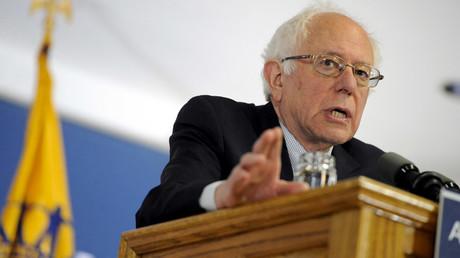 Democratic U.S. presidential candidate Bernie Sanders © Mark Kauzlarich