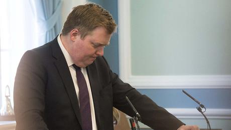 Iceland's Prime Minister Sigmundur David Gunnlaugsson. ©Halldor Kolbeins