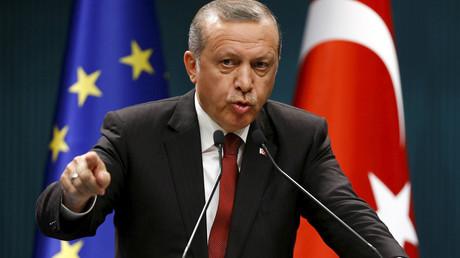Turkey's President Tayyip Erdogan. © Umit Bektas