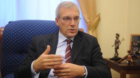 Russia`s permanent representative to NATO Aleksandr Grushko © Grigoriy Sisoev
