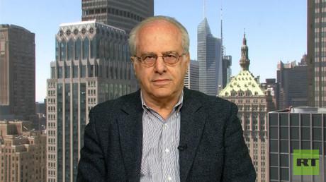 Richard Wolff - a leading economist, professor emeritus at the University of Massachusetts