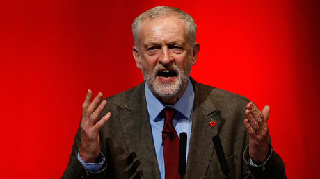 Jeremy Corbyn, leader of Britain's opposition Labour Party © Russell Cheyne