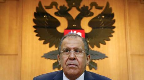 Russian Foreign Minister Sergei Lavrov © Maxim Shemetov