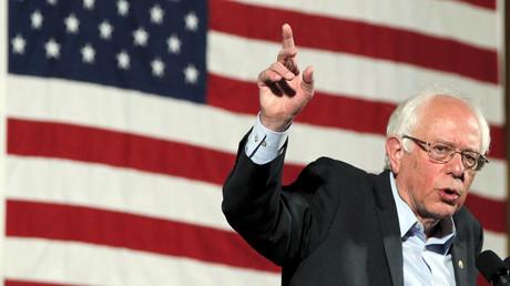 U.S. Democratic presidential candidate and U.S. Senator Bernie Sanders © Brian Snyder