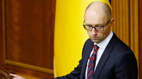 Ukraine's Prime Minister Arseny Yatseniuk © Gleb Garanich