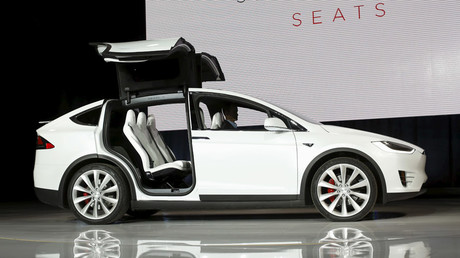 A Tesla Motors Model X © Stephen Lam