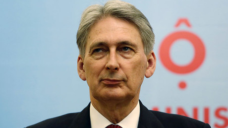Britain's Foreign Secretary Philip Hammond. © Kham