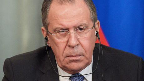 Russian Foreign Minister Sergey Lavrov. ©Evgenya Novozhenina