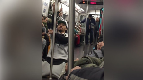 Insectiride: NYC subway car set into panic after agitated woman drops box of crickets, worms