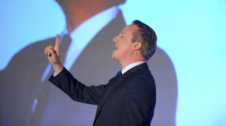 Britain's Prime Minister, David Cameron. © Kerry Davies