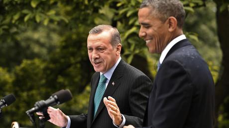 Turkey's President Tayyip Erdogan and U.S. President Barack Obama © Kevin Lamarque