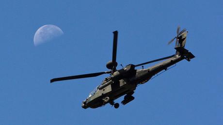 A U.S. Army Apache helicopter © Shamil Zhumatov