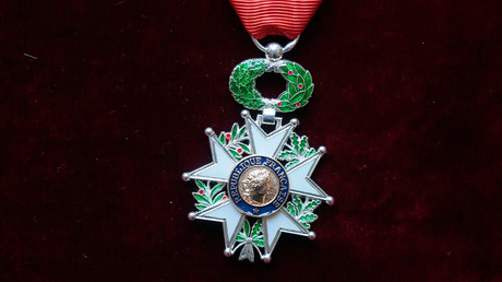 The medal of Chevalier of the Legion of Honor © Str