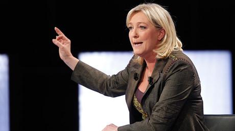 Marine Le Pen © Thomas Samson