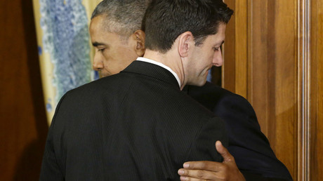 U.S. President Barack Obama (L) and House Speaker Paul Ryan © Jonathan Ernst