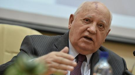 Former Soviet President Mikhail Gorbachev © Ramil Sitdikov