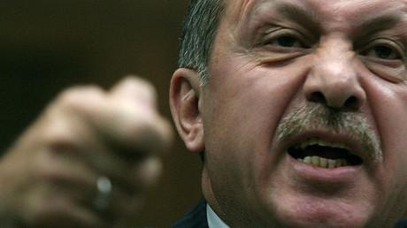 Turkey's President Tayyip Erdogan. © Adem Altan