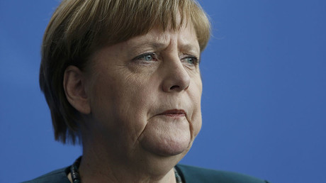 German Chancellor Angela Merkel. © Hannibal Hanschke