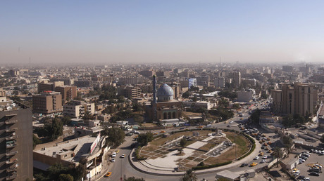 An aerial view shows Baghdad © Saad Shalash