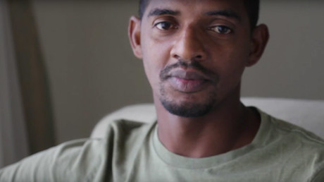 Suleiman Abdullah Salim, a Tanzanian fisherman, was brutally tortured at a CIA black site in Afghanistan. © acluvideos