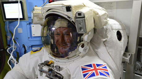 British astronaut Tim Peake. © NASA