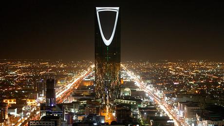 The Kingdom Tower above the Saudi capital Riyadh © Ali Jarekji