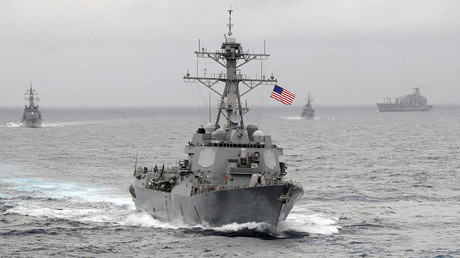 File photo: The US Navy guided-missile destroyer USS Lassen © US Navy
