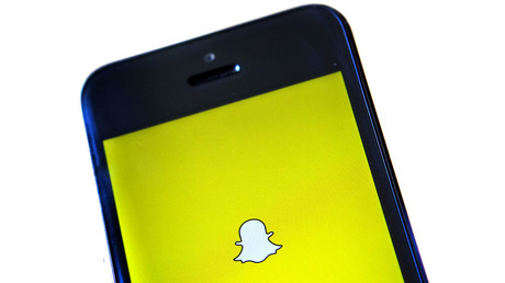 The Snapchat logo. © Eric Thayer