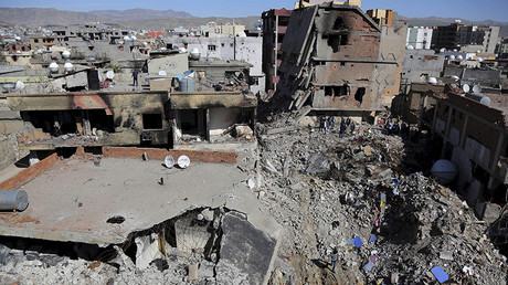 The southeastern town of Cizre in Sirnak province, Turkey © Sertac Kayar