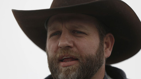 Ammon Bundy. © Jim Urquhart