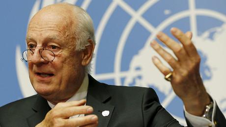 U.N. mediator Staffan de Mistura. ©Denis Balibouse