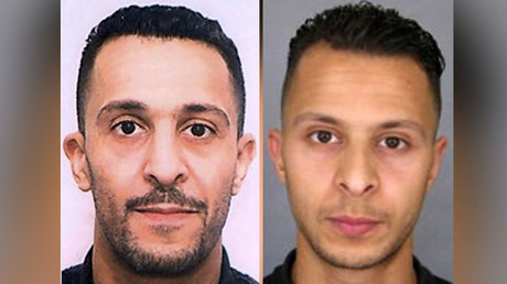 Brahim Abdeslam and Salah Abdeslam. © AFP