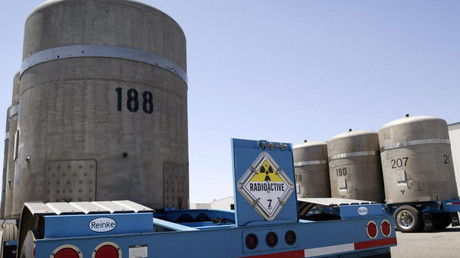 The Hanford Nuclear Reservation. © AFP