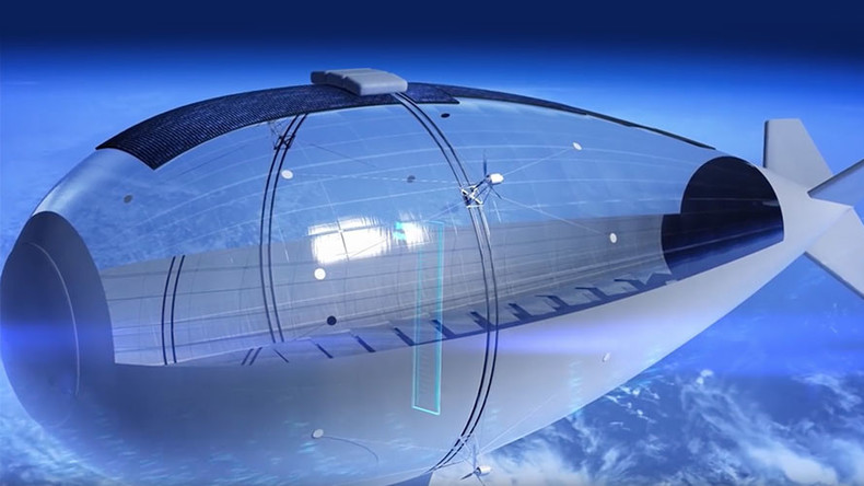 Solar Surveillance Airship Designed For Stratospheric