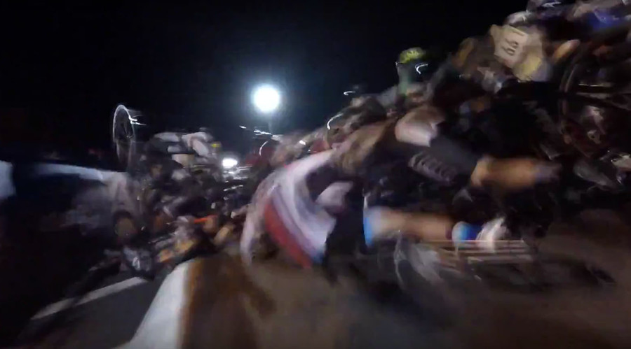 Twisted metal: Horrific mass cycling crash mars New York City road race (VIDEOS)