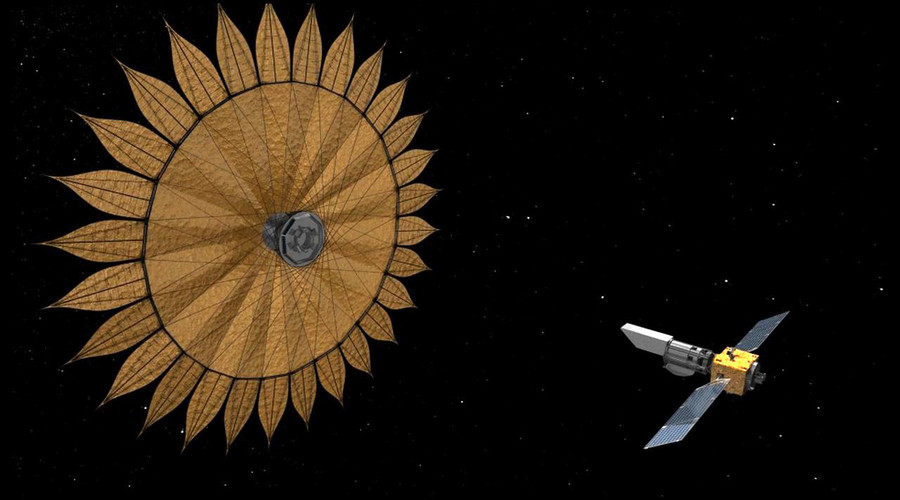 Starshade: Search for 'other Earths' boosted by origami-inspired tech (VIDEO)