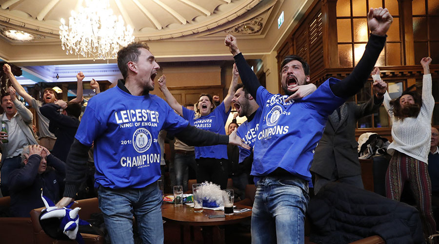 The day we beat the bookies: Industry hit for £25mn after Leicester's miracle league title