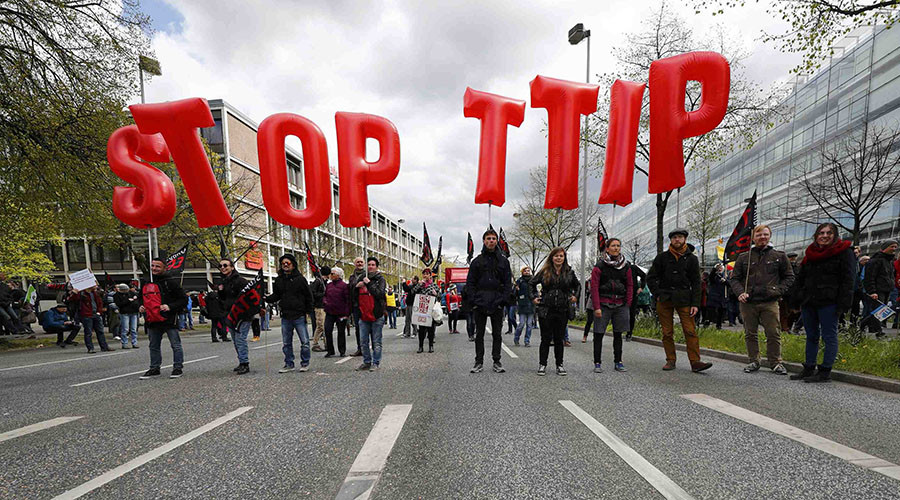 LEAKED: Explosive TTIP documents expose plans for corporate takeover, dismantled climate protection