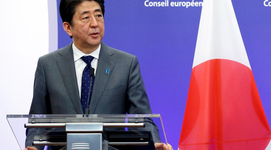 Japan's Prime Minister Shinzo Abe © Francois Lenoir